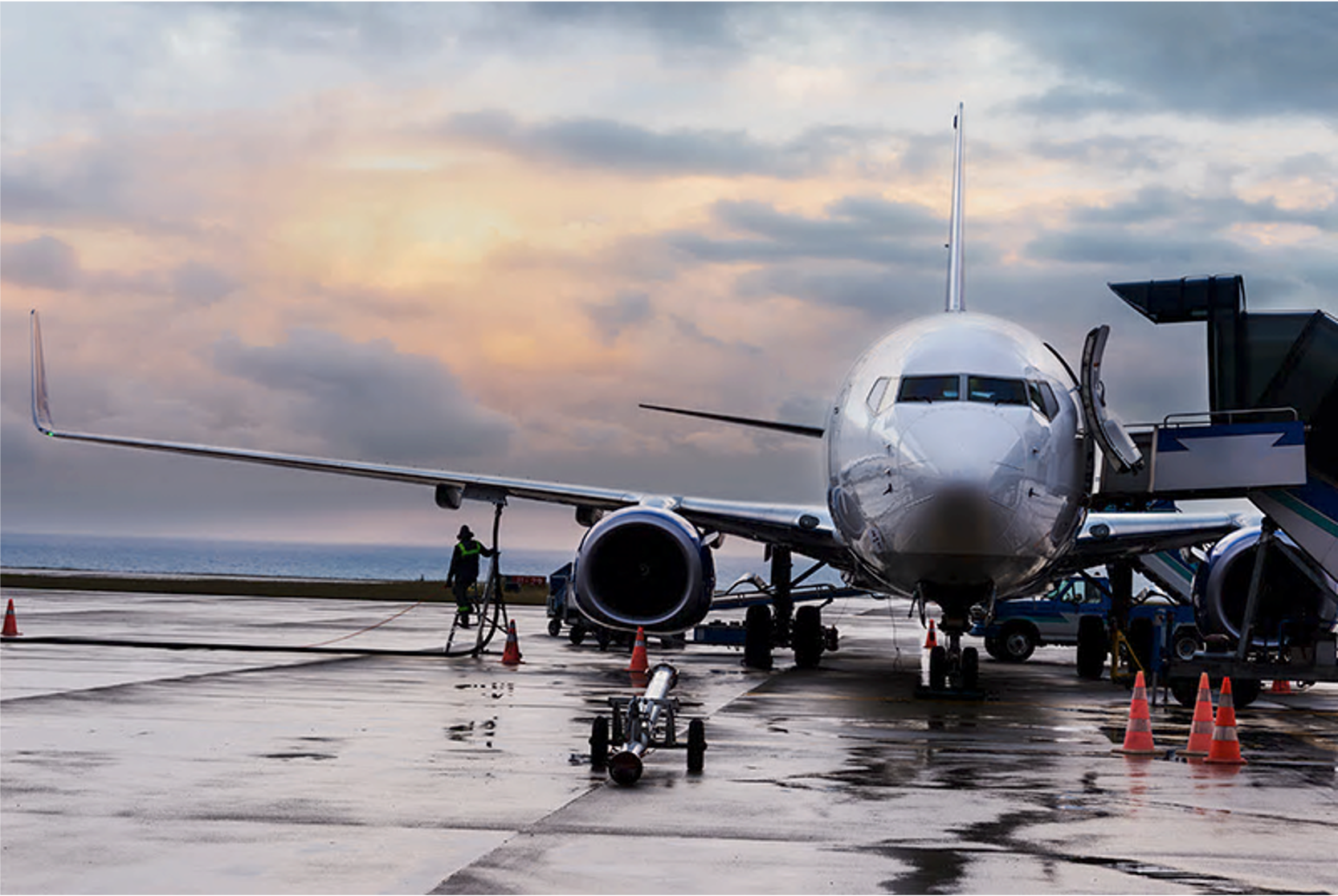 Meet infrastructure requirements and delight air travellers